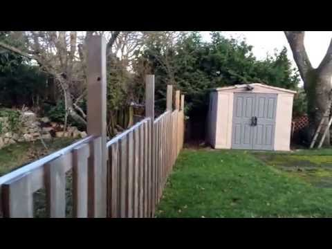 Good  Neighbor Fence Installation Ideas - Non Sag Easy Building