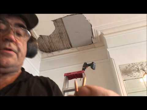 Lath and Plaster Ceiling  Repairs