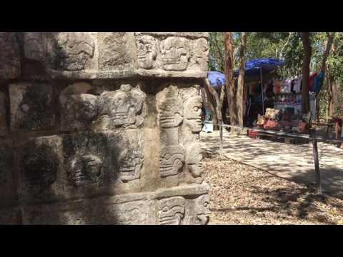 Chichen Itza Wall of Sacrifice