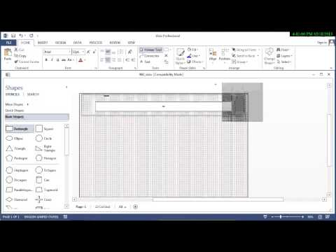 Using Visio to Lay Out a 12 column 960 Grid