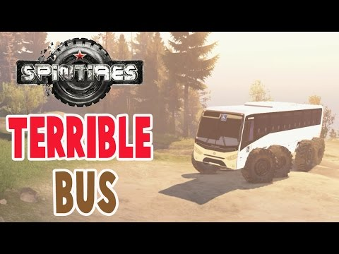 Spintires Mods - TERRIBLE BUS