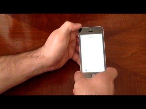 iPhone SE - How to screenshot