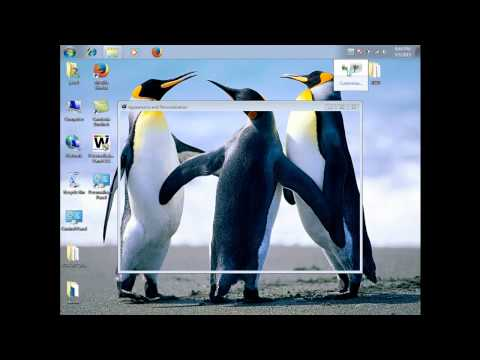 Easy way to change your wallpaper in Windows 7 Starter & Home (LINK)- 2015