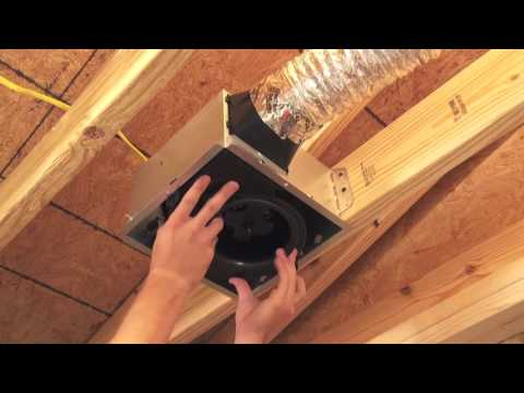 Broan-NuTone InVent Bath Fan Installation