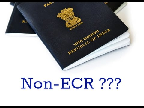 WHAT IS ECR AND ECNR? IN PASSPORT WHICH OPTION TO SELECT??(HINDI 2017)