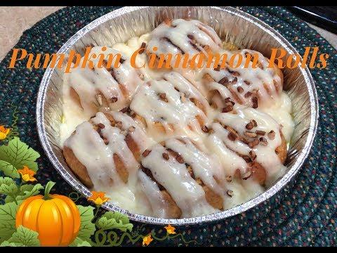 Easy Pumpkin Cinnamon Rolls | DIY Pumpkin Spice Mix | Cook With Me