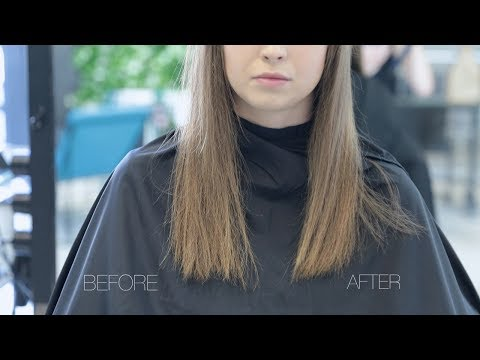 how to get rid of split ends tutorial