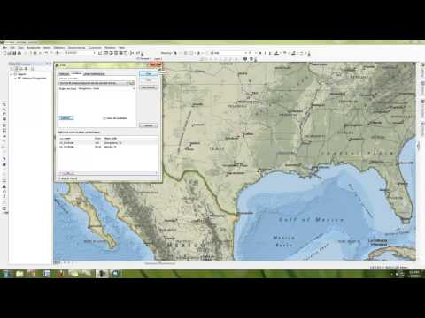 How to make a simple map in ArcMap