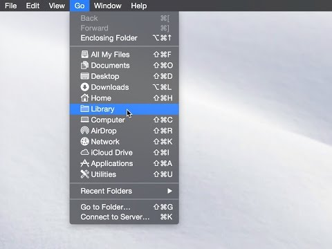 Mac Tip: How to show the ~/Library folder