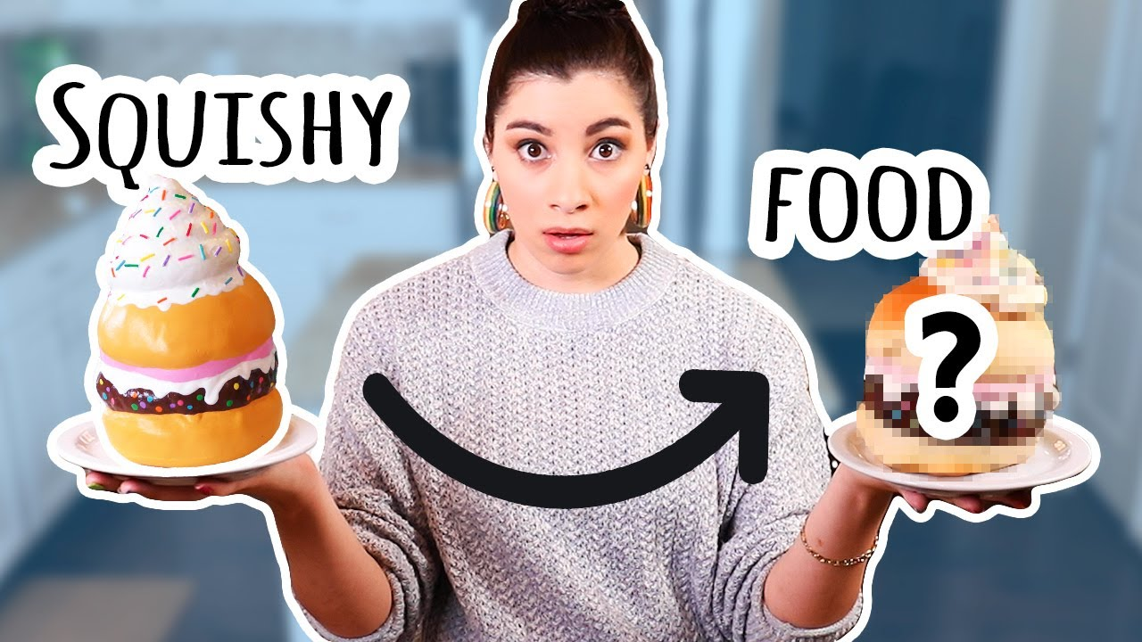 I Recreated My Squishy in Real Life | Bake With ME #8