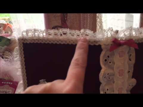 Book folding birdcage decorating complete