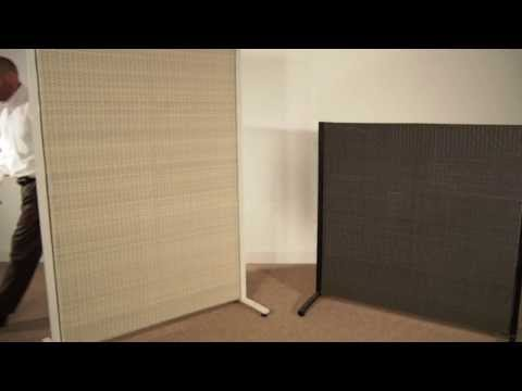 Outdoor Wicker Partition / Garden Screen by Versare