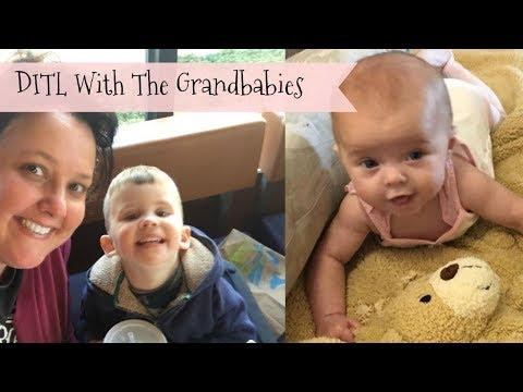 DITL BABYSITTING THE GRANDKIDS