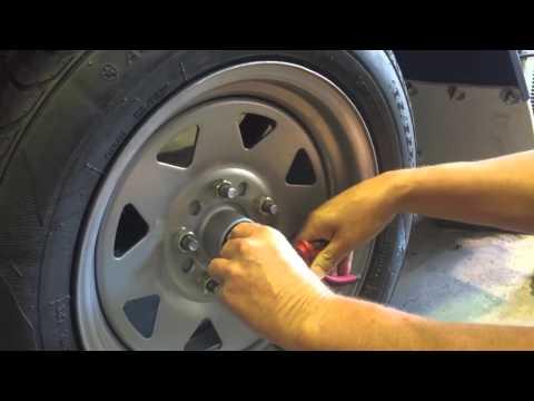 How to Adjust trailer bearings