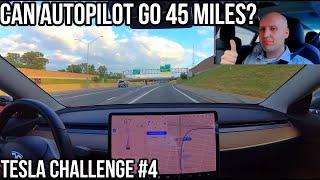 Download 2019.20.4.4 Tesla Update | Nav on Autopilot for 45 Miles | TESLA CHALLENGE #4 | Construction | Video