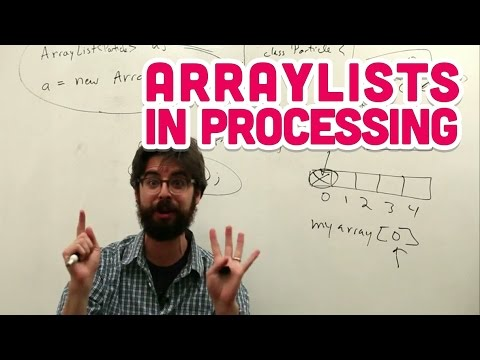 4.2: ArrayLists in Processing - The Nature of Code