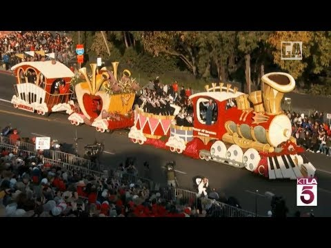 LIVE : 129th Rose Parade in California - 2018 Happy New year