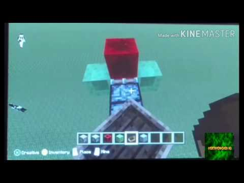 How to make a working airplane in Minecraft xbox 360 edition