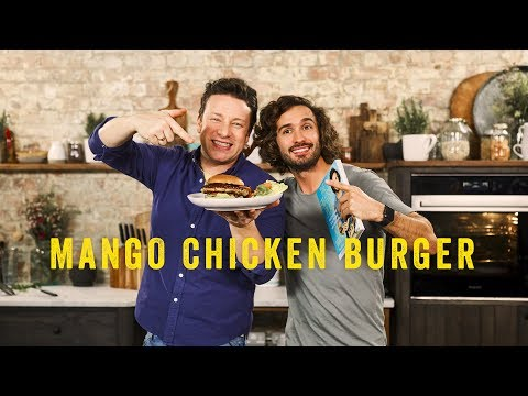 My Amazing Mango Chicken Burger from The Fat-Loss Plan | Joe Wicks & Jamie Oliver