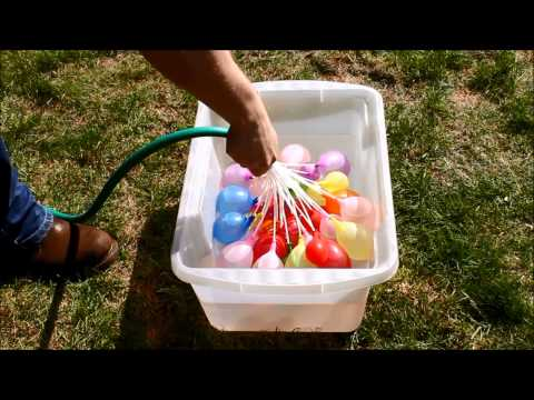 Quick Ammo Water Balloons Bombs Self Tying Easy Fill Kids Outdoor Summer Toy