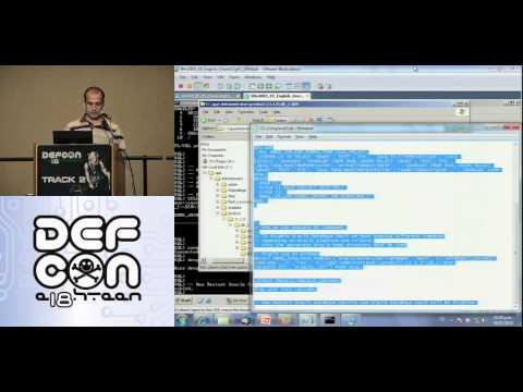 Defcon 18   Hacking and protecting Oracle database Vault   Esteban Martinez Fayo   Part