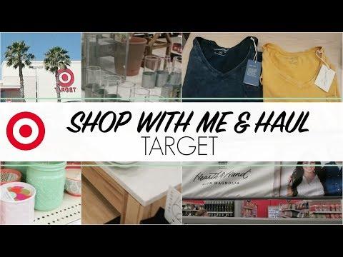 Travel Vlog   TARGET Shop with Me & Haul!