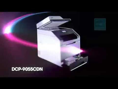 Brother DCP 9055CDN Colour Laser Printer A4 Multifunction Duplex Network at HuntOffice.co.uk