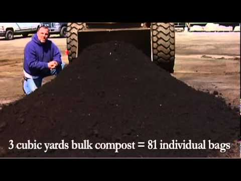 What Does One Cubic Yard of Cedar Grove's Bulk Compost Look Like?