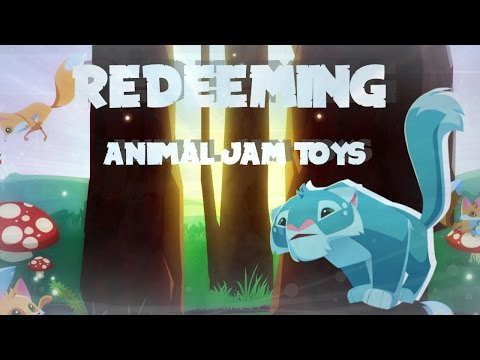 Redeeming Animal Jam Membership and Toy Codes!