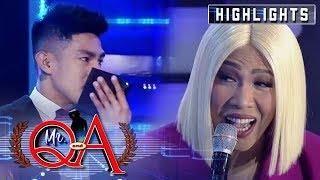 Vhong tips off Vice that someone sat on Ion's lap | It's Showtime Mr. Q and A