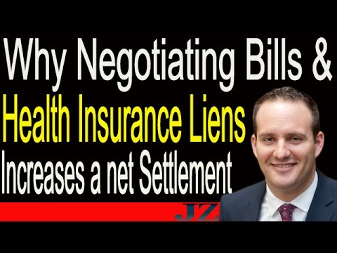 Why Negotiating Hospital Bills & Health Insurance Liens Increases an Injury Settlement Amount