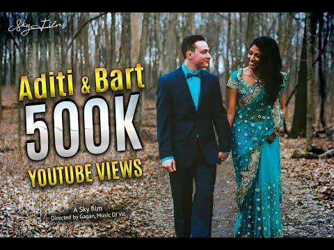 Aditi and Bart's Truly Amazing Indian-American Lovely Wedding | Novi Showplace | 03.12.16