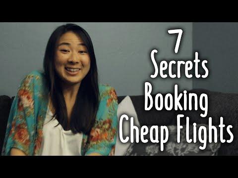 7 Secrets Booking Cheap Flights