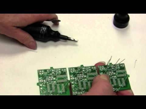CUT AND BEND TOOL FOR CIRCUIT BOARDS