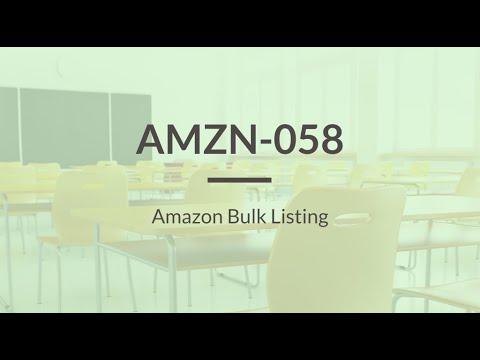 SureDone: Amazon Training (5 of 6) - Bulk Listings