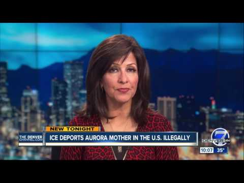 Undocumented mother of 4 from Aurora has been deported from US by ICE agents