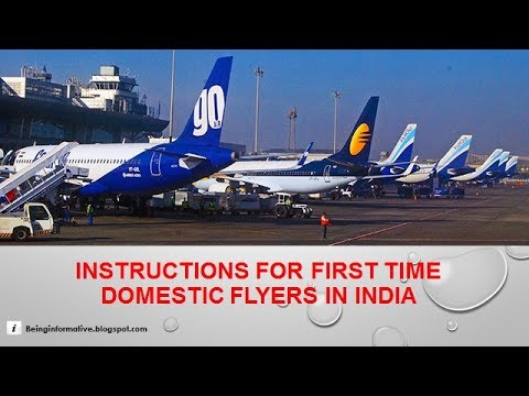 Instructions for domestic flyers in India (English)