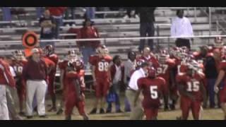 Download QB spikes ball on 4th down. High school football Video