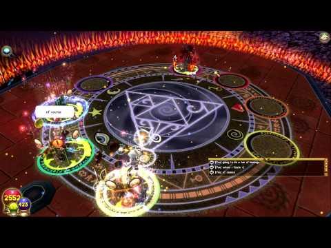 Wizard 101 Helephant 8,000 Damage!!