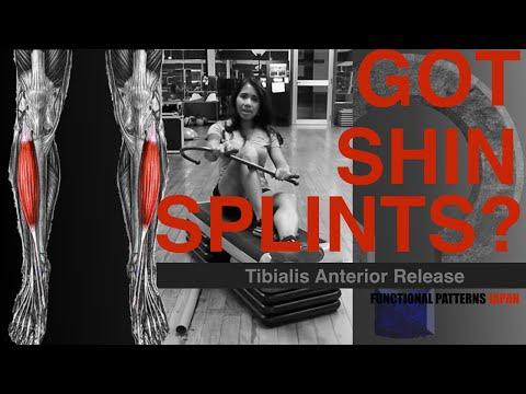 Shin Splints (Tibialis Anterior Release)