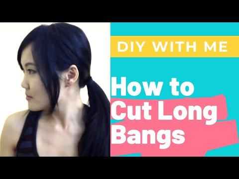 How To: Cut Long Bangs DIY in 10 Easy Steps