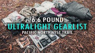 Download Pacific Northwest Trail Ultralight Gear List Video