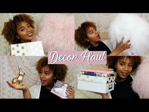Decor Haul | MOVING & REVAMPING | (Pink, White, & Gold Themed)