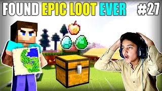 I FOUND EPIC LOOT IN MINESHAFT | MINECRAFT GAMEPLAY#27 | HS GAMING