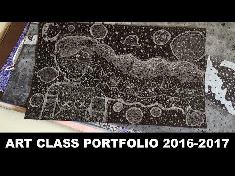 My High School Art Portfolio 2016-2017 | HolaArtista