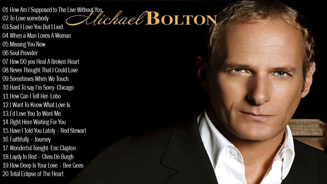 Best Love Songs Michael Bolton 2021- Michael Bolton Greatest Hits Playlist 2021