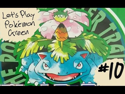 Let's Play: Pokemon Green #10 Catch Abra If You Can