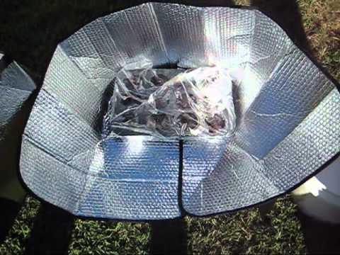 $5 Funnel Solar Oven - Make A Solar Oven For $5