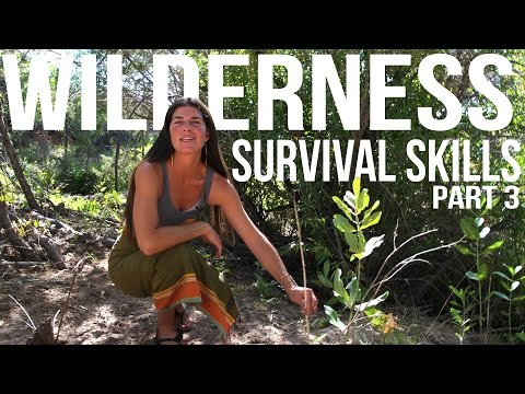 Wilderness Survival Skills Pt 3/4: Hand Drill, Tarp Shelter, & Resource Gathering