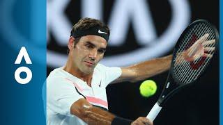 Jan-Lennard Struff v Roger Federer match highlights (2R)   Australian Open 2018